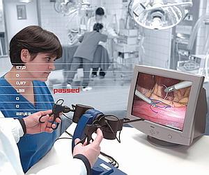 Виртуальная симуляция эндохирургических вмешательств